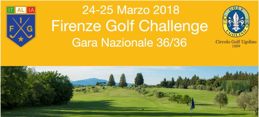 AL GOLF UGOLINO IL 24-25 MARZO IL FIRENZE GOLF CHALLENGE
