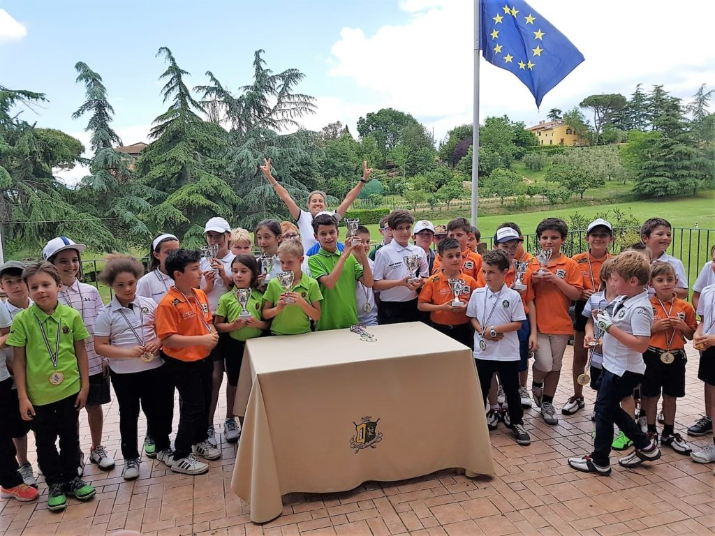 GLI UNDER 12 AL GOLF SAN MINIATO