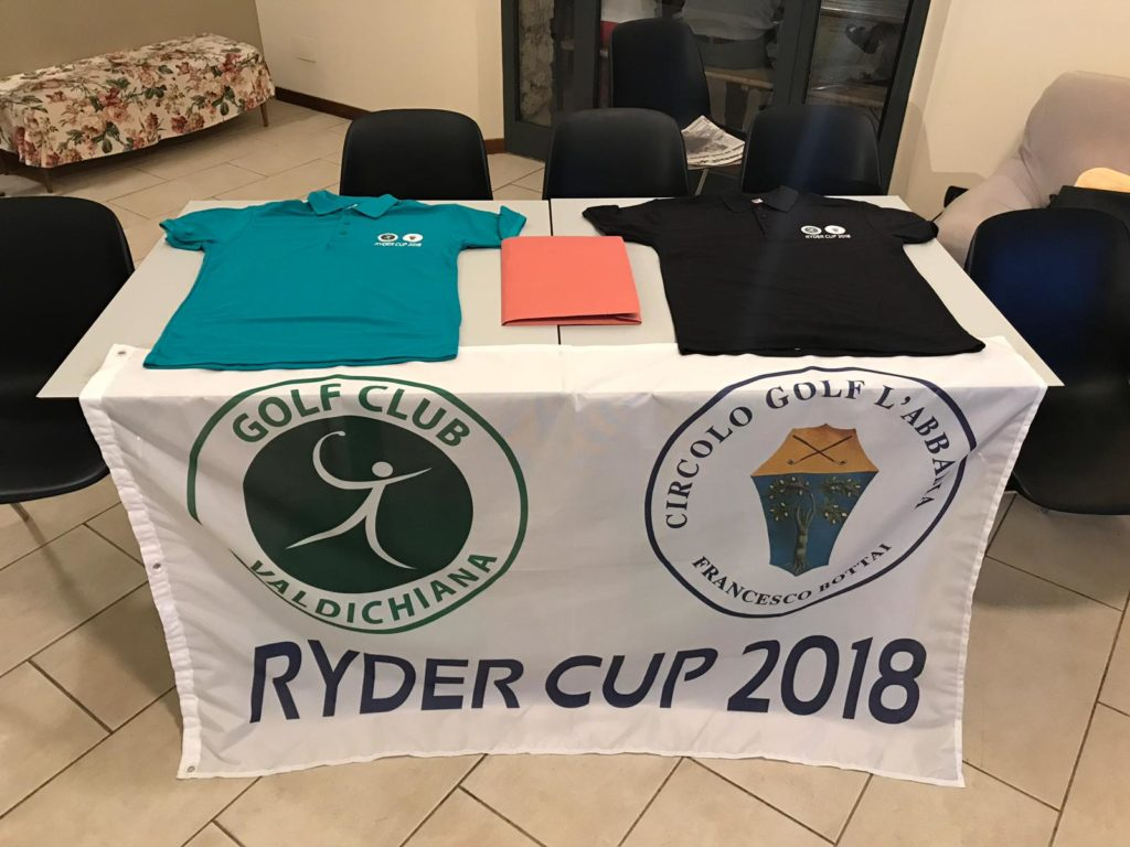 RYDER CUP TRA I GOLF VALDICHIANA E L'ABBADIA