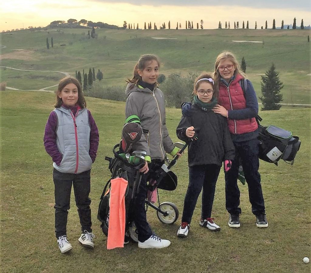 "LE ""STARS DEL FUTURO"" UNDER 12 AL GOLF BELLOSGUARDO"