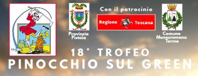 IL 18° TROFEO PINOCCHIO SUL GREEN 2019