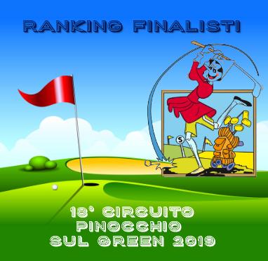 IL RANKING DEL CIRCUITO PINOCCHIO SUL GREEN UNDER 16
