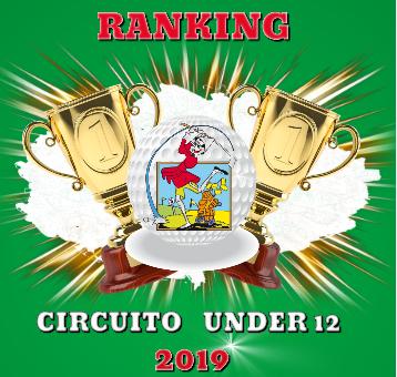 il ranking del circuito under 12 dopo la tappa del Golf Livorno