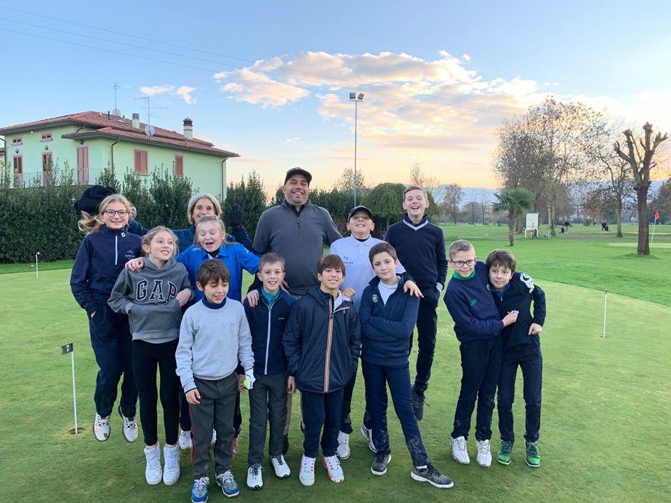 Le stars del futuro under 12 al Golf Quarrata