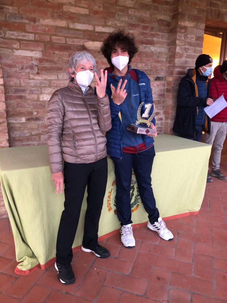 Giuliattini, che tris nel Trofeo Fondazione Montelatici